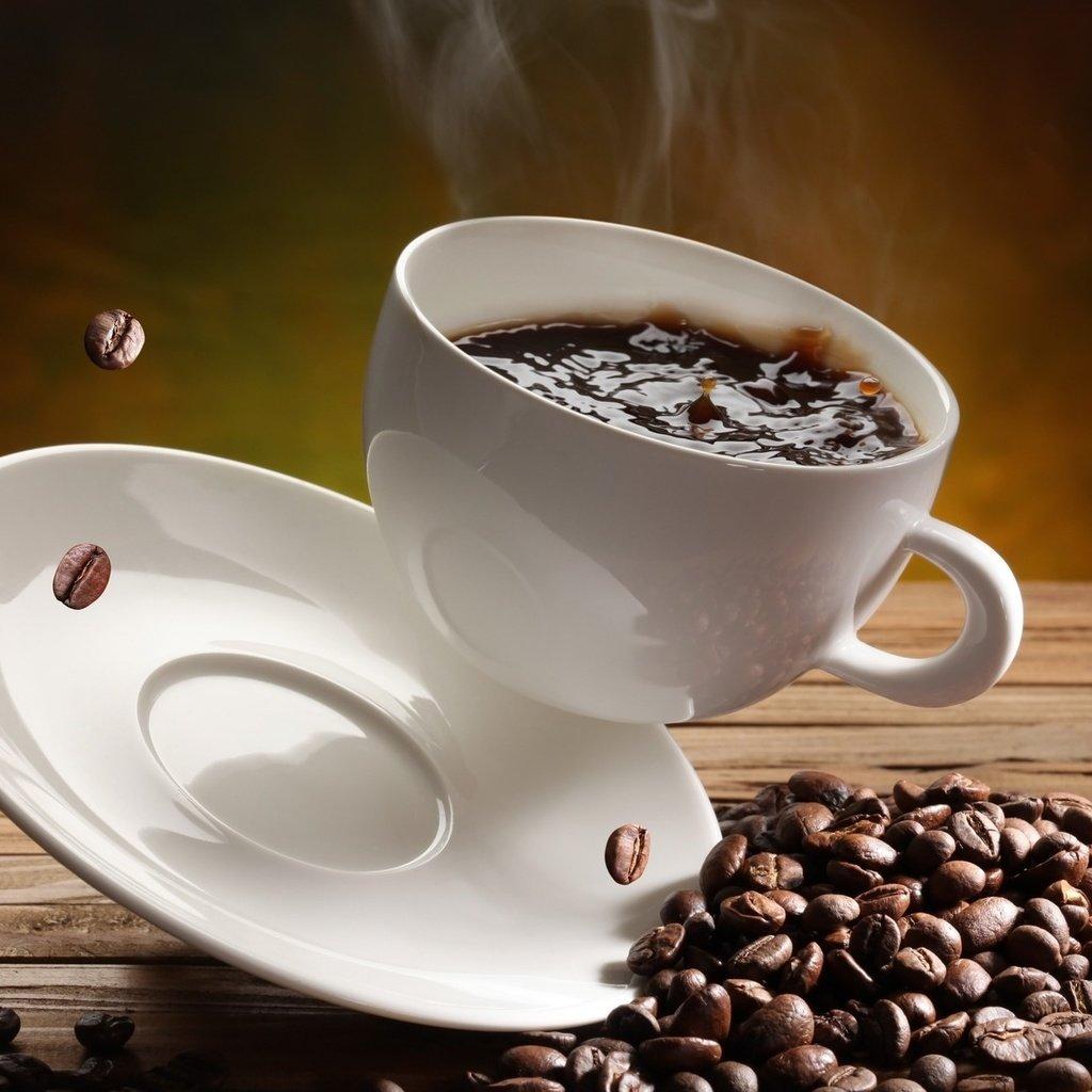 Кружка из кофейных зерен бесплатно