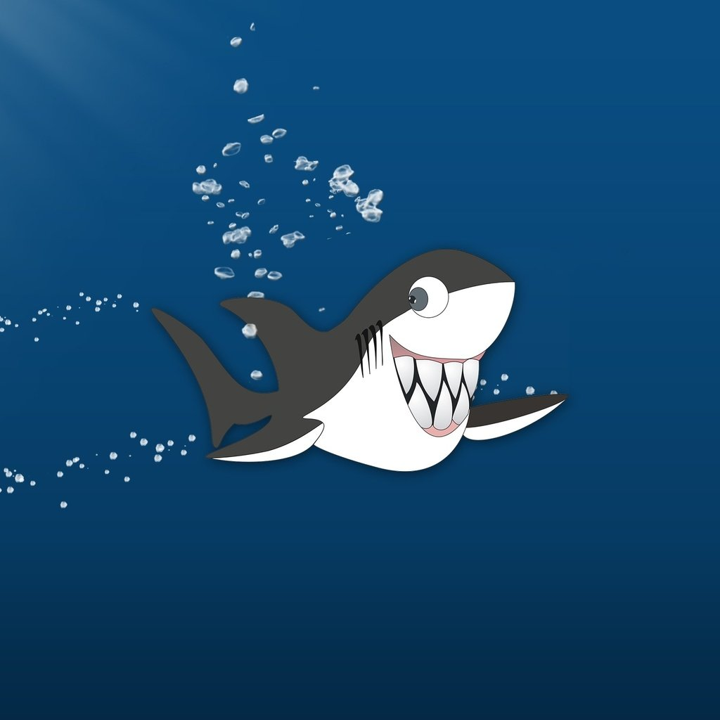 акула прикол картинка нравится слово