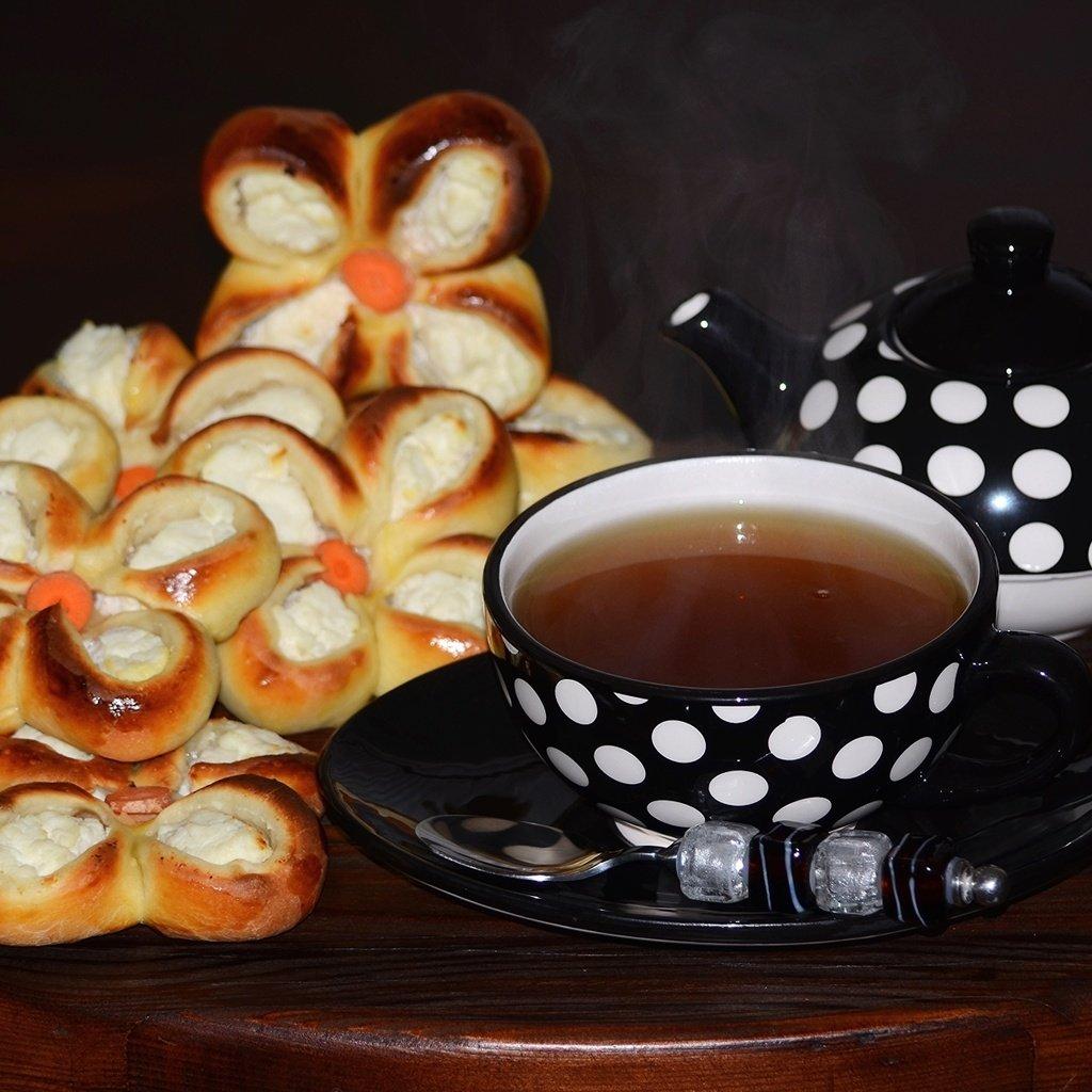 фото чай с плюшками российской полиции