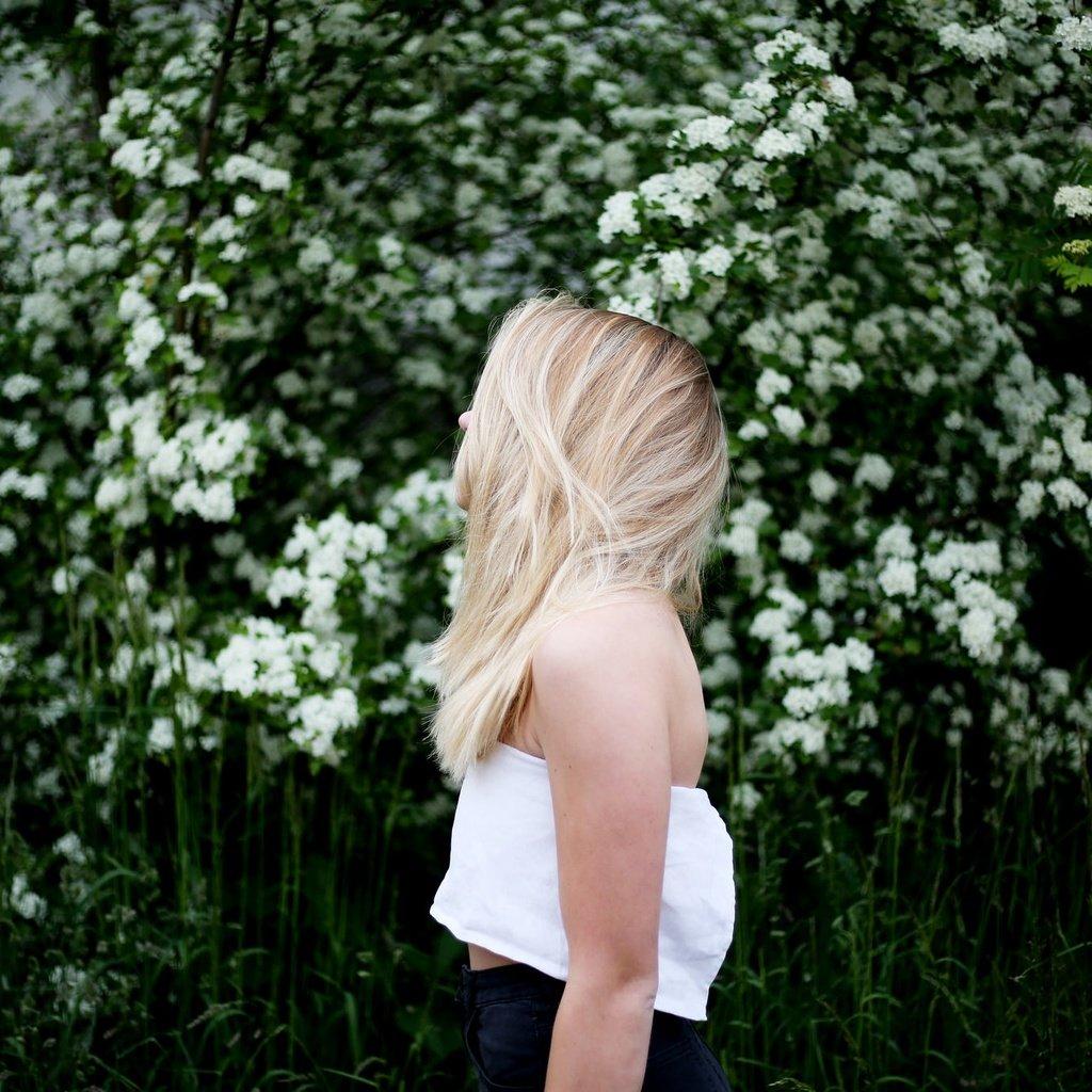 фото красивых блондинок без лица - 9