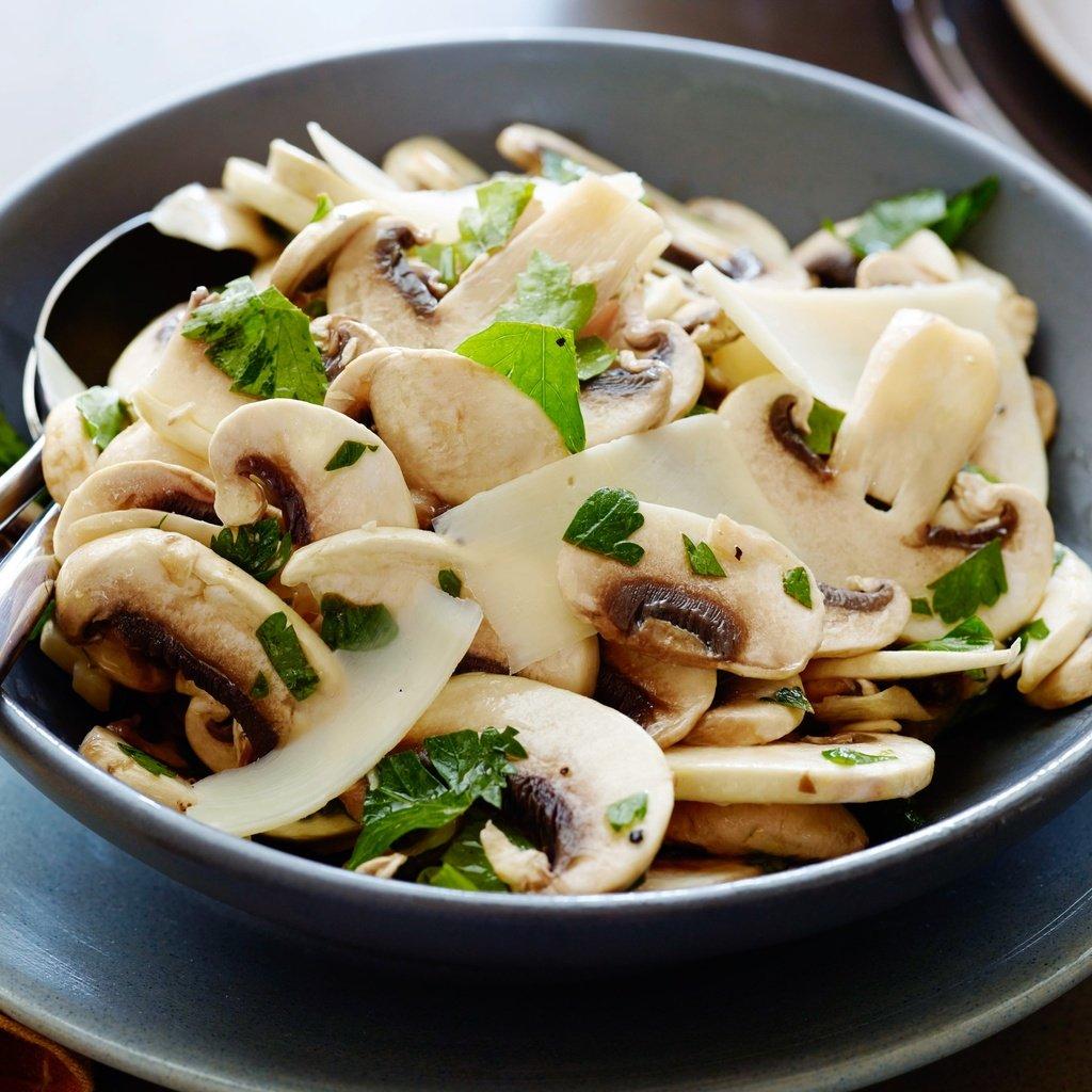 железо салат из белых грибов картинка очень простой мастер-класс