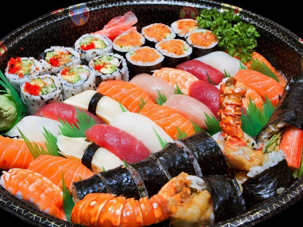 Різні види суші