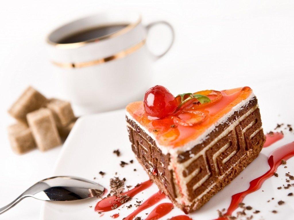Картинки кофе и пирожного