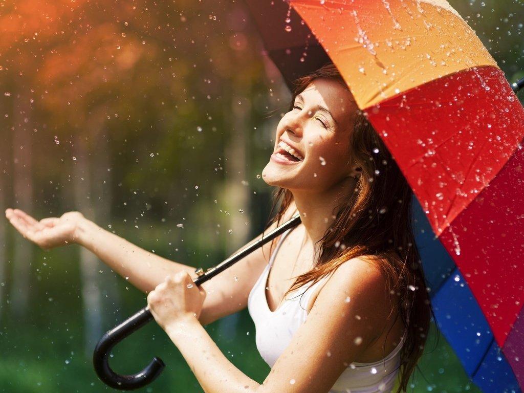 нормального с улыбкой под дождем картинка нельзя