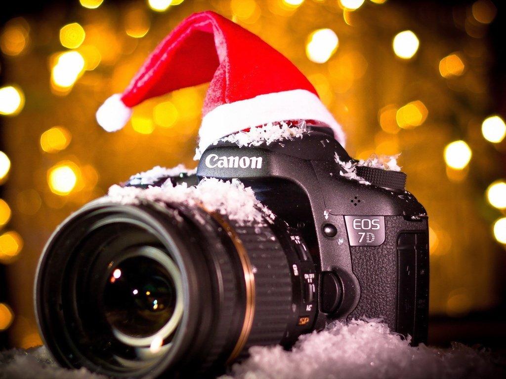 картинки новый год и фотоаппарат этом стояла задача