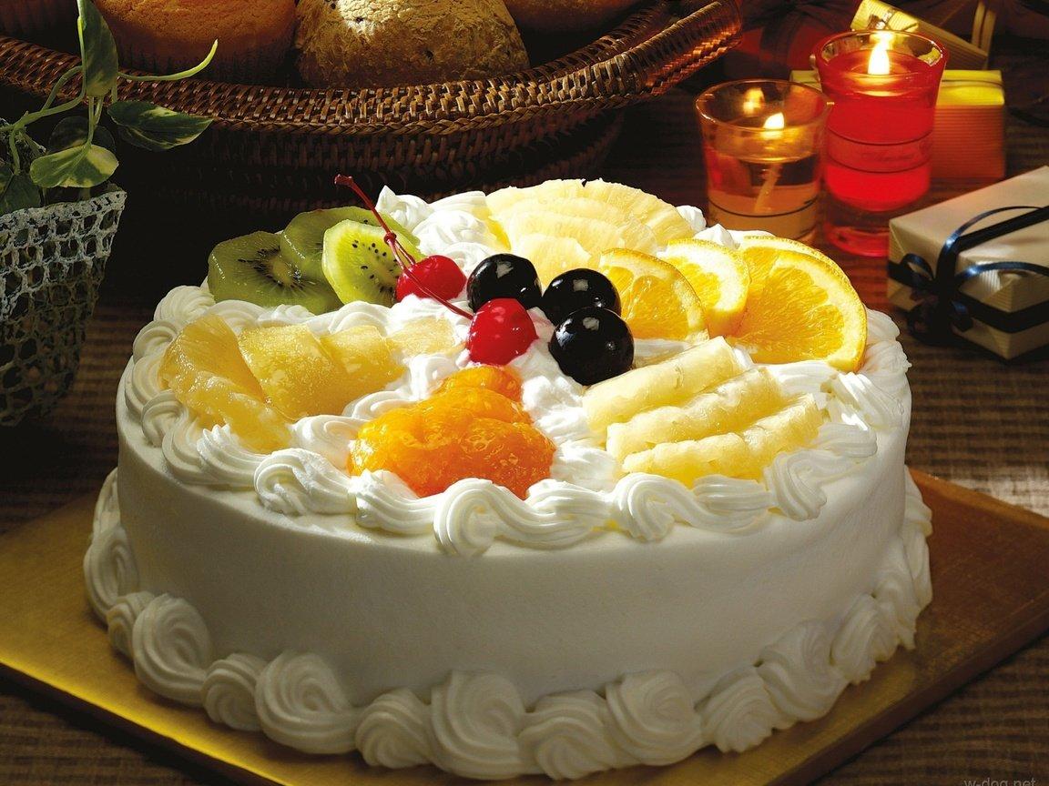 Идеи украшения торта в домашних условиях кремом