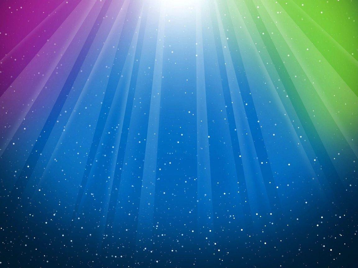Обои лучи, свет, Цвет. Абстракции foto 18