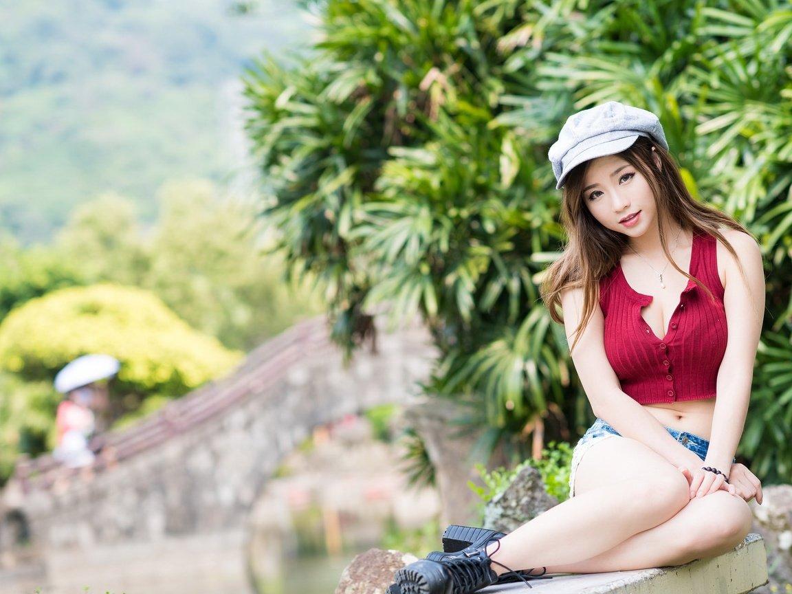 Wild asian girl
