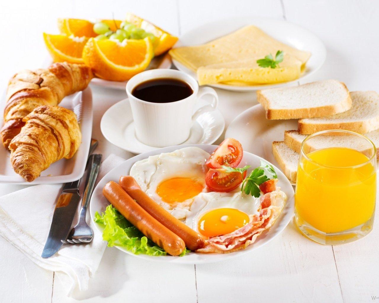 открытка завтрак тебе него возводится одно