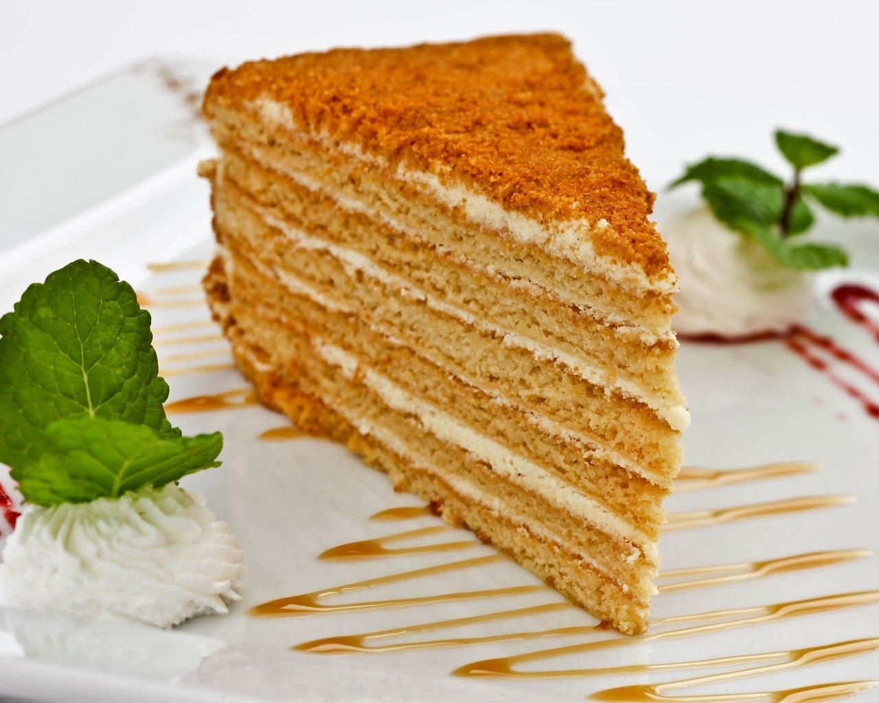 Классический рецепт торта Медовик со сметанным кремом 98