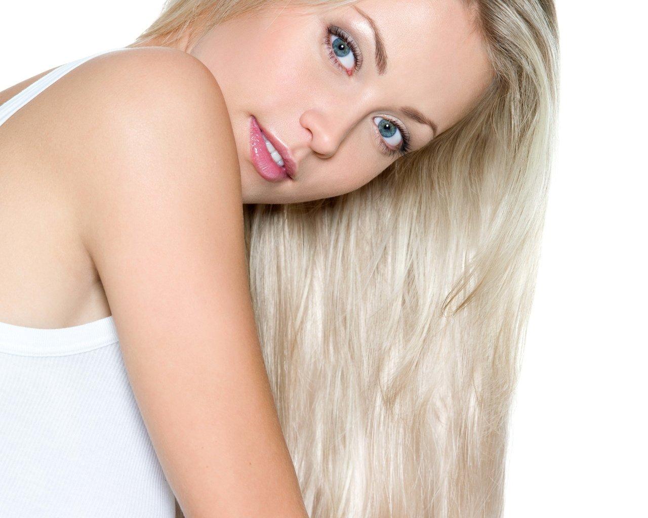 Длинноволосая блондинка картинки