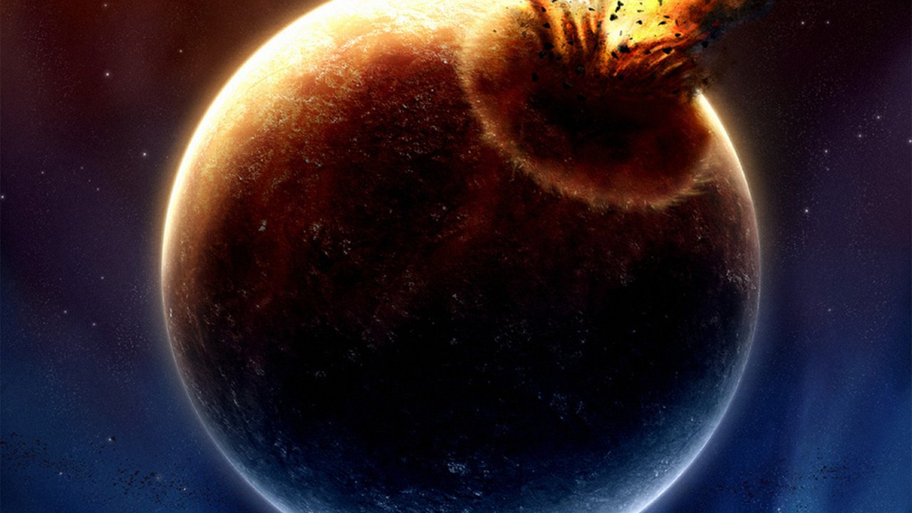 Обои Explosion, взрыв, space, Meteorite, метеорит. Космос foto 17