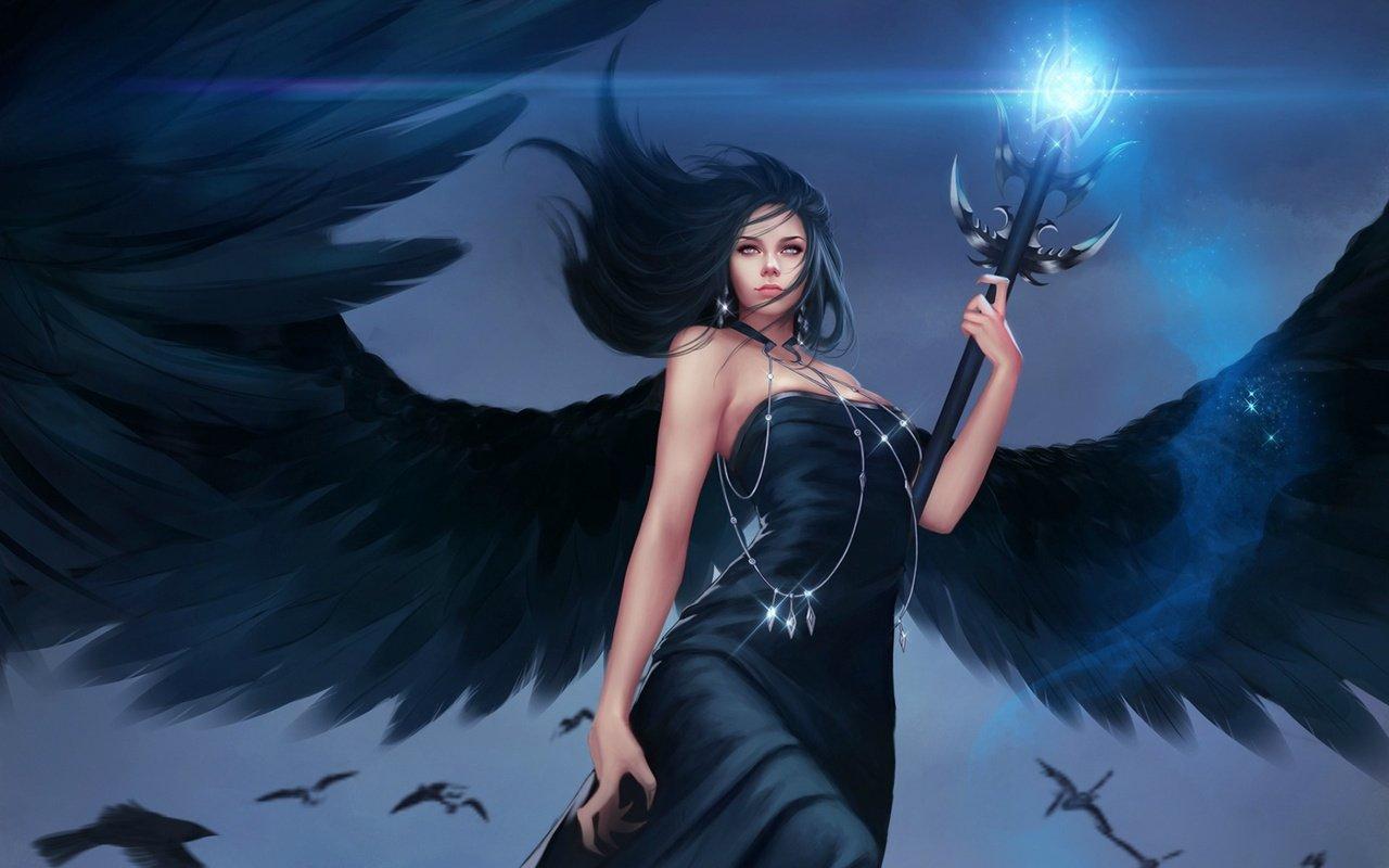 Смотреть фото девушек ангелов