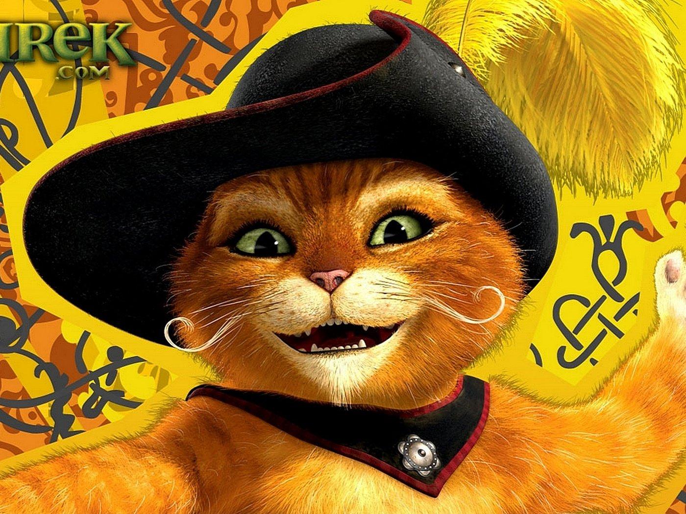 Картинка с анимацией кот в шляпе, днем рождения весна