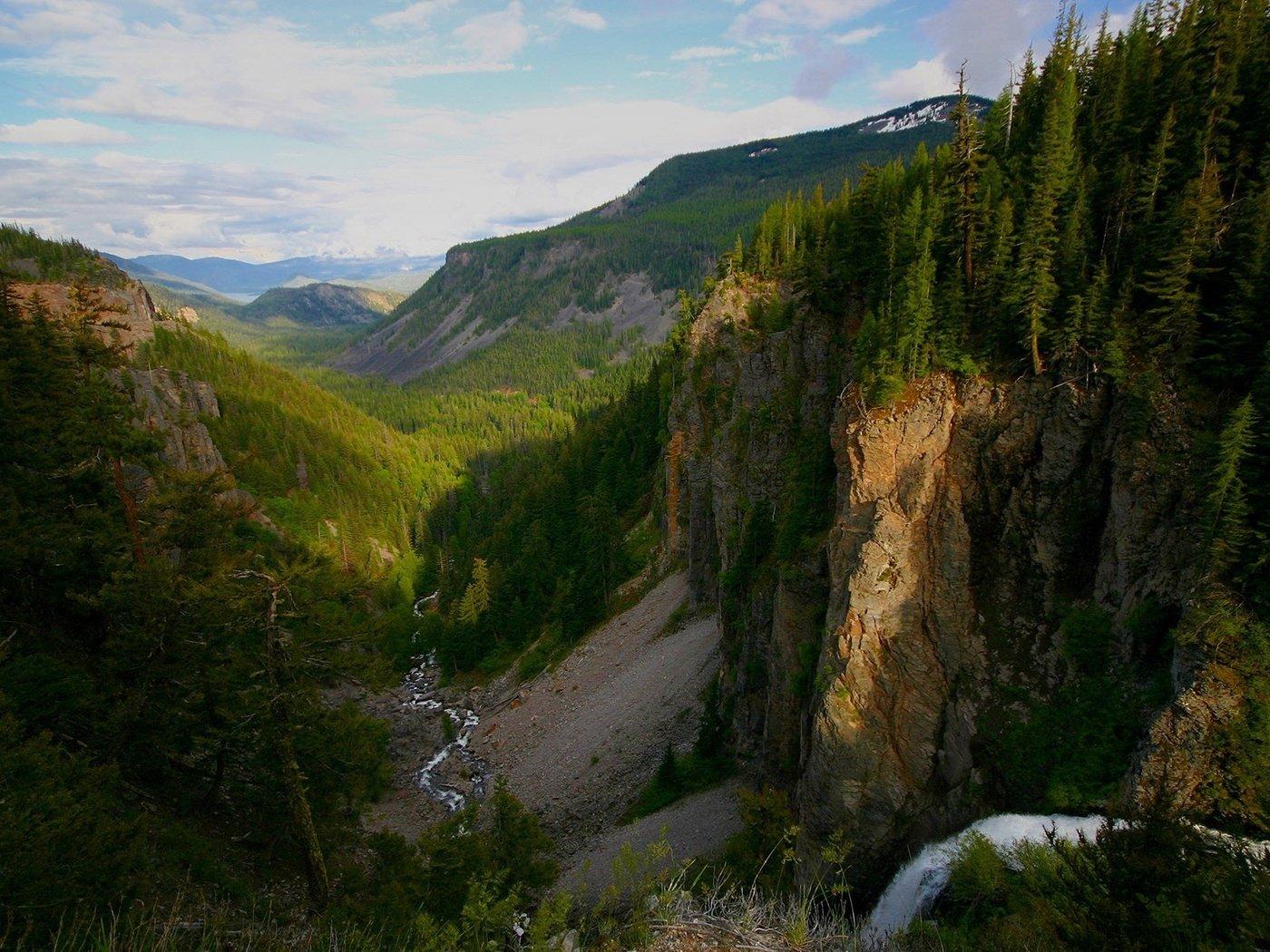 картинки тайга горная река сопки