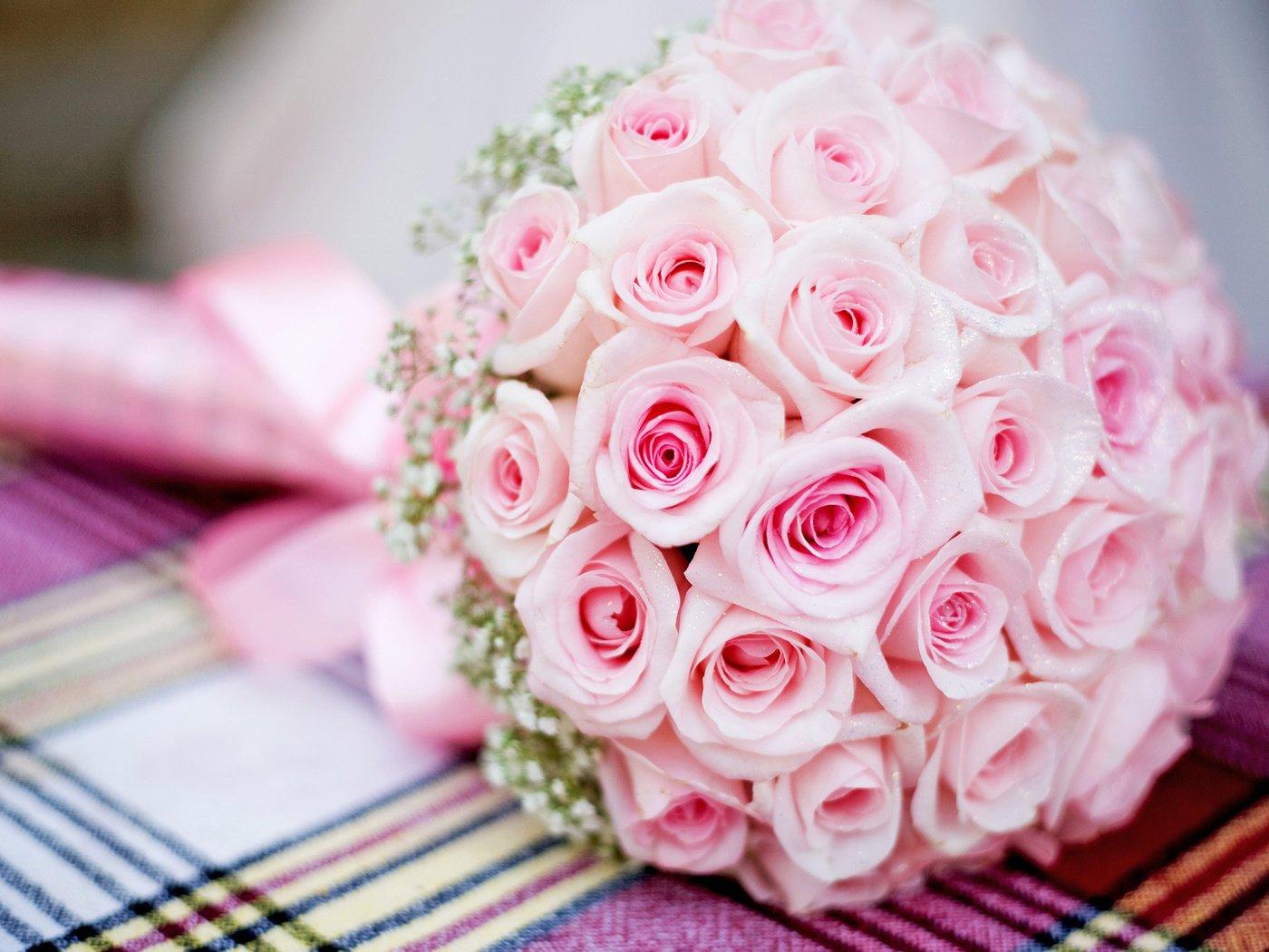 Букет невесты открытки, счастье большой