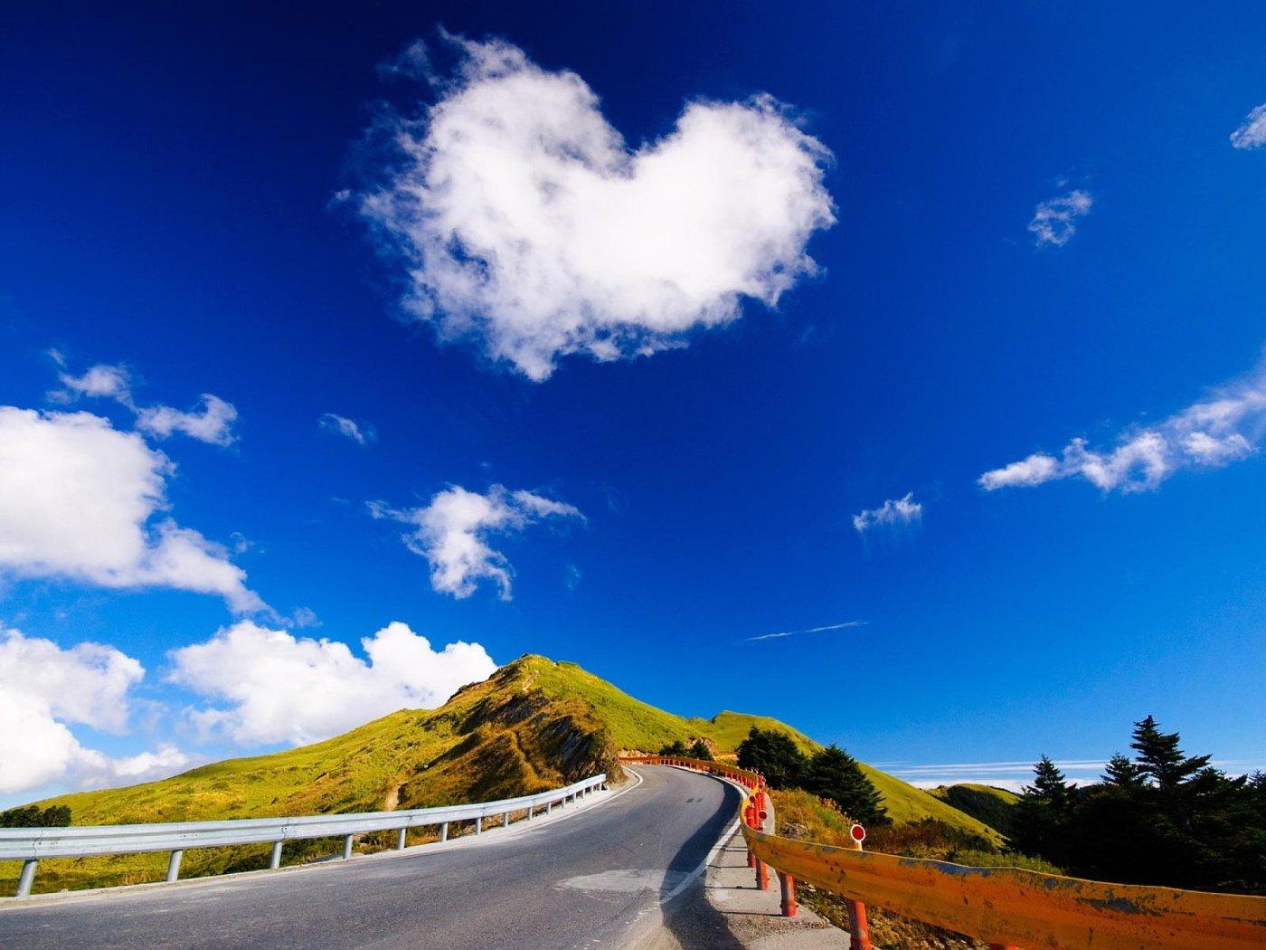 цель красивые картинки небо и дорогами так