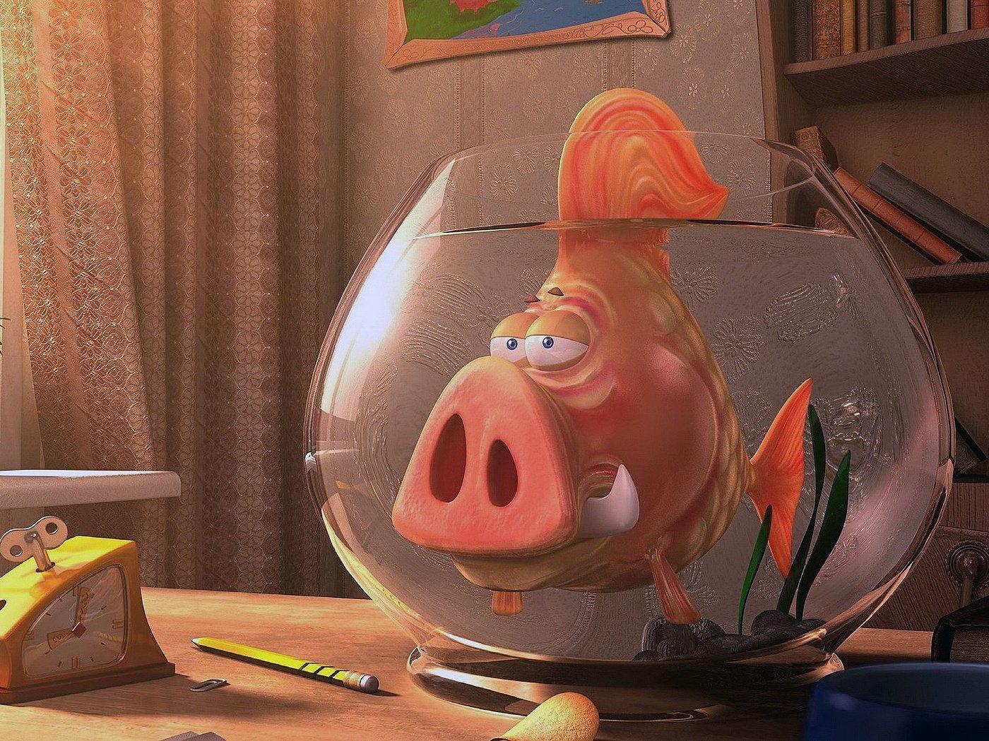 Прикольные картинки рыбками, идеи для
