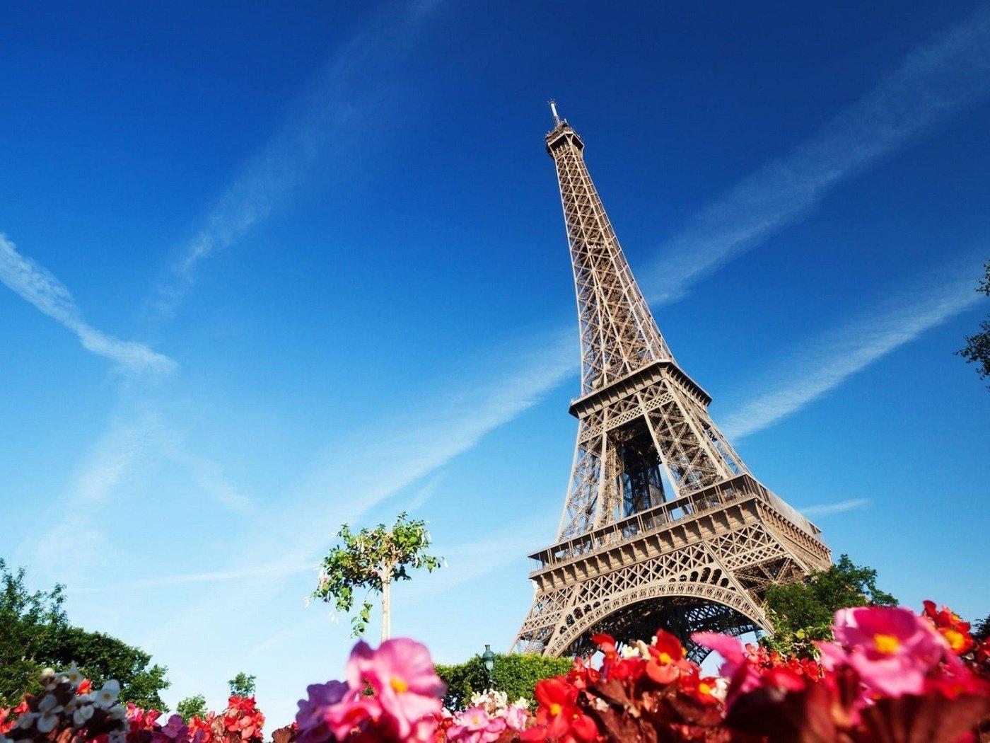 Париж открытка фото