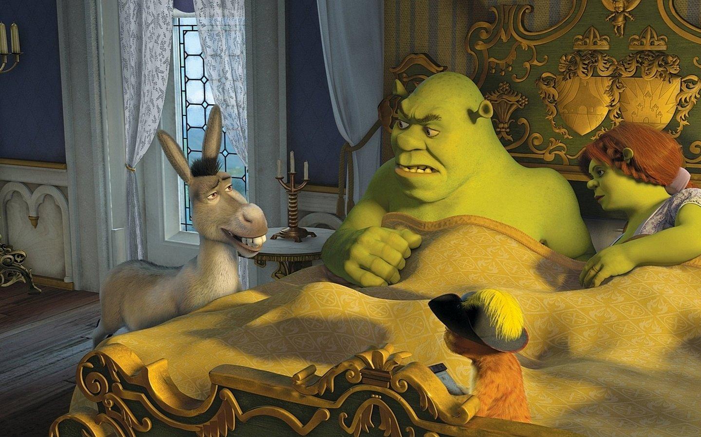 Shrek cartoon porn pics nude video