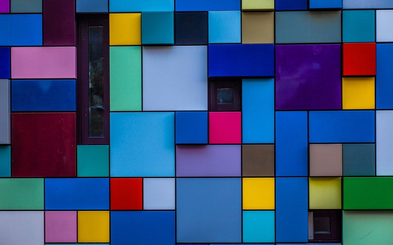 Обои Color, windows, blocks. Windows foto 8
