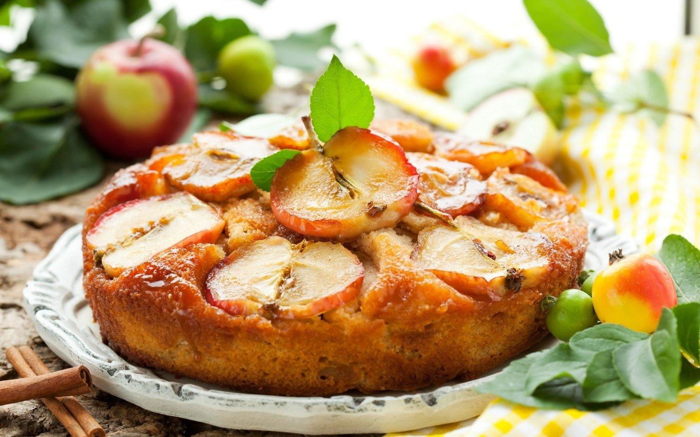 Пирога с яблоками рецепт