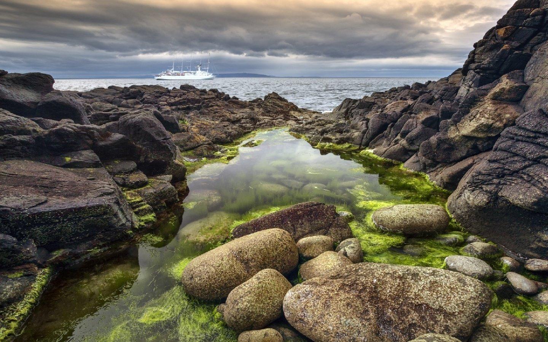 скала море камни rock sea stones  № 45270 без смс