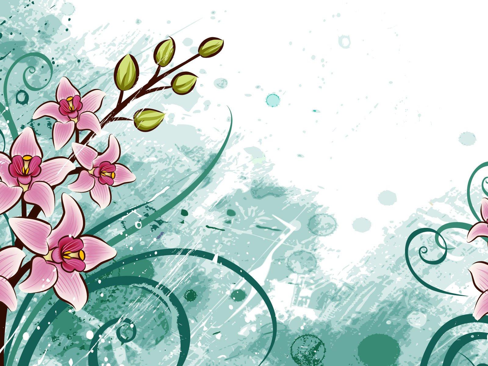 Нарисовать цветок на открытке, надписями