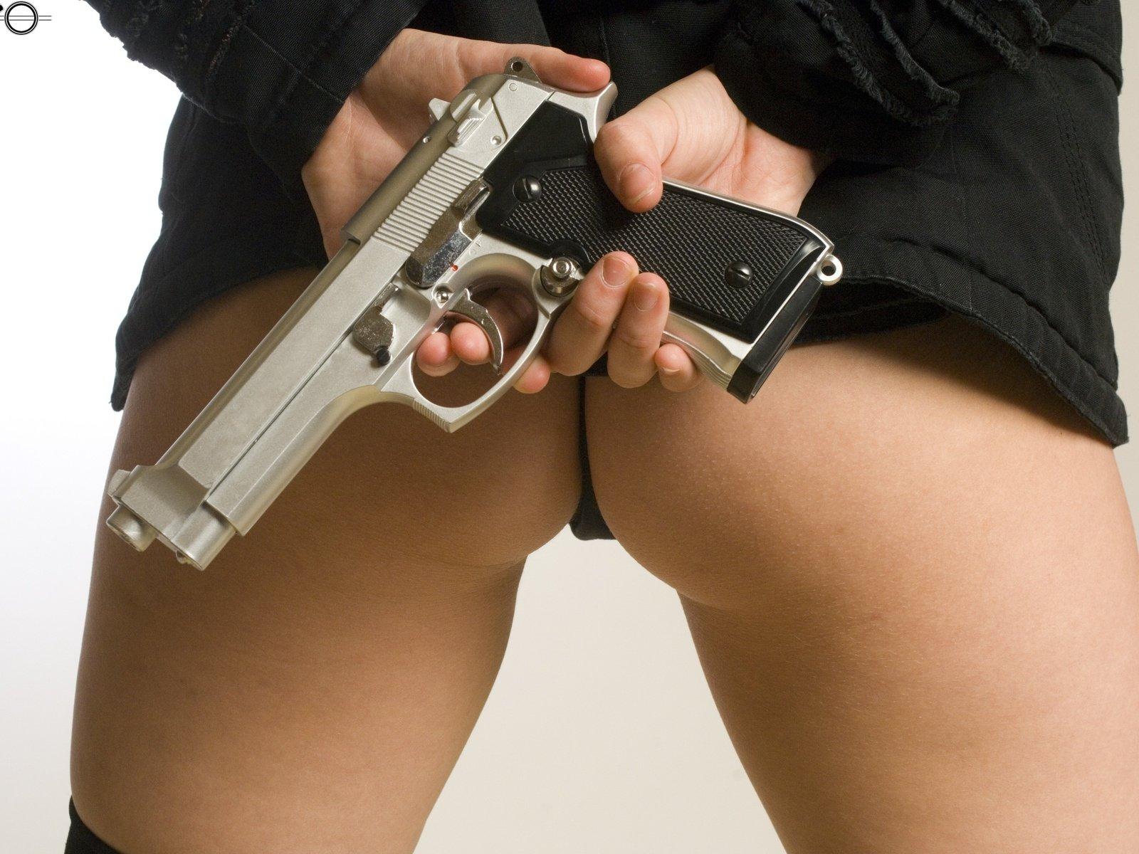 Guy puts gun in girls ass porn, wife serves black cock only