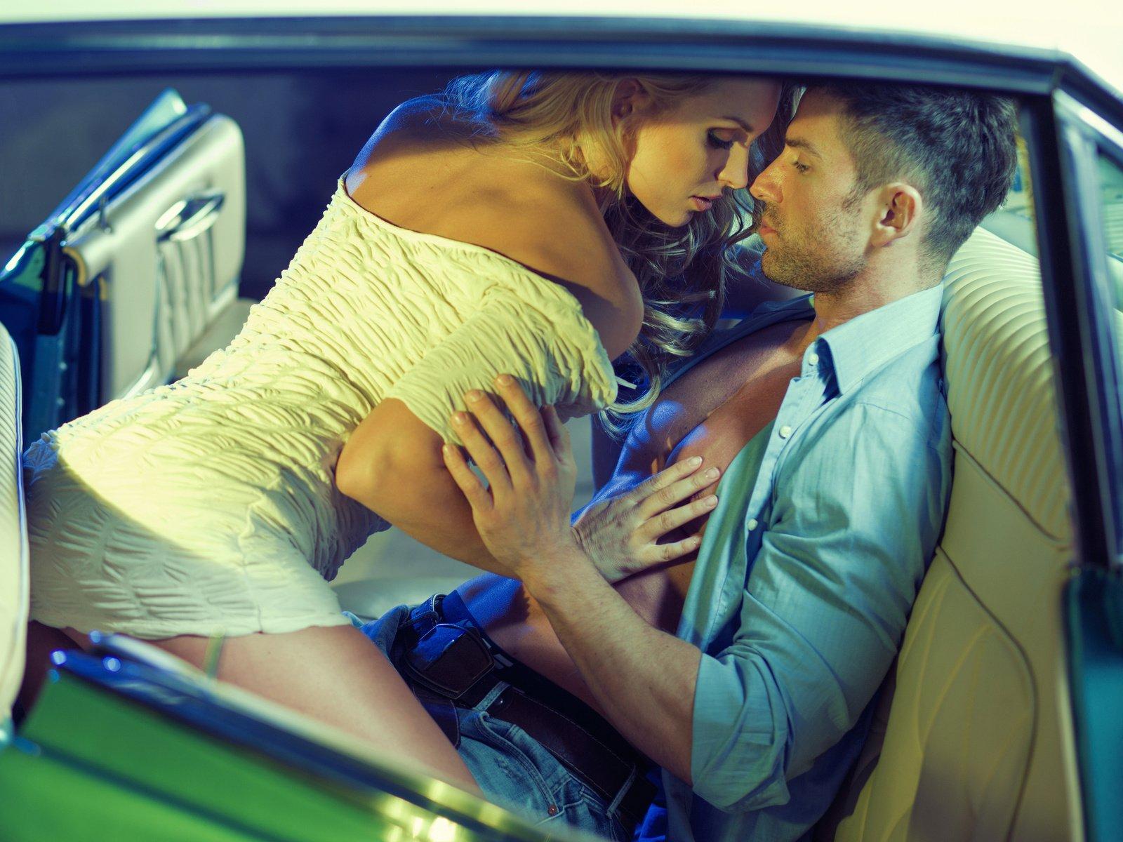 свадебную тусовку, фото целующихся в машине крупно бисера