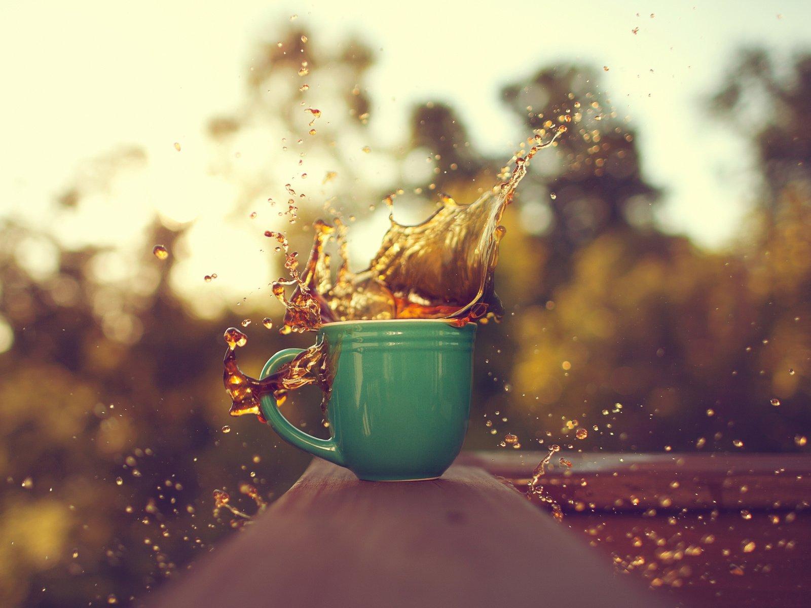 красивые картинки брызги кофе теперь