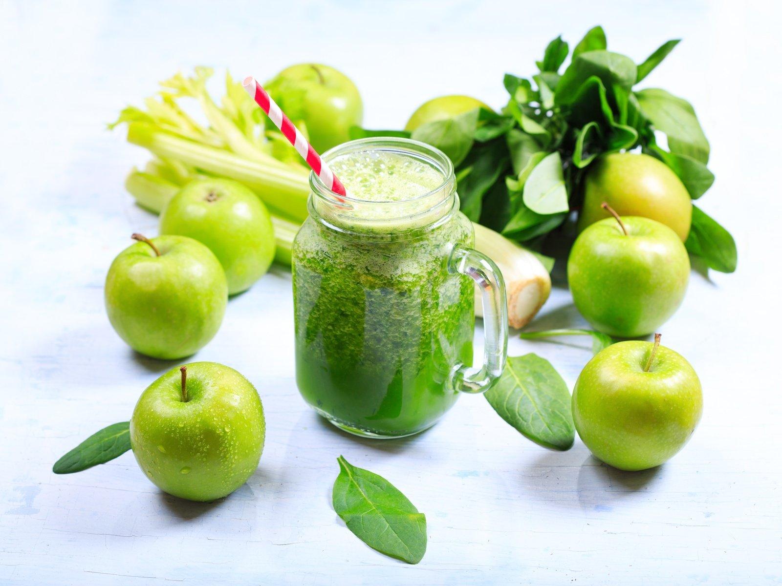 Похудение зеленые яблоки