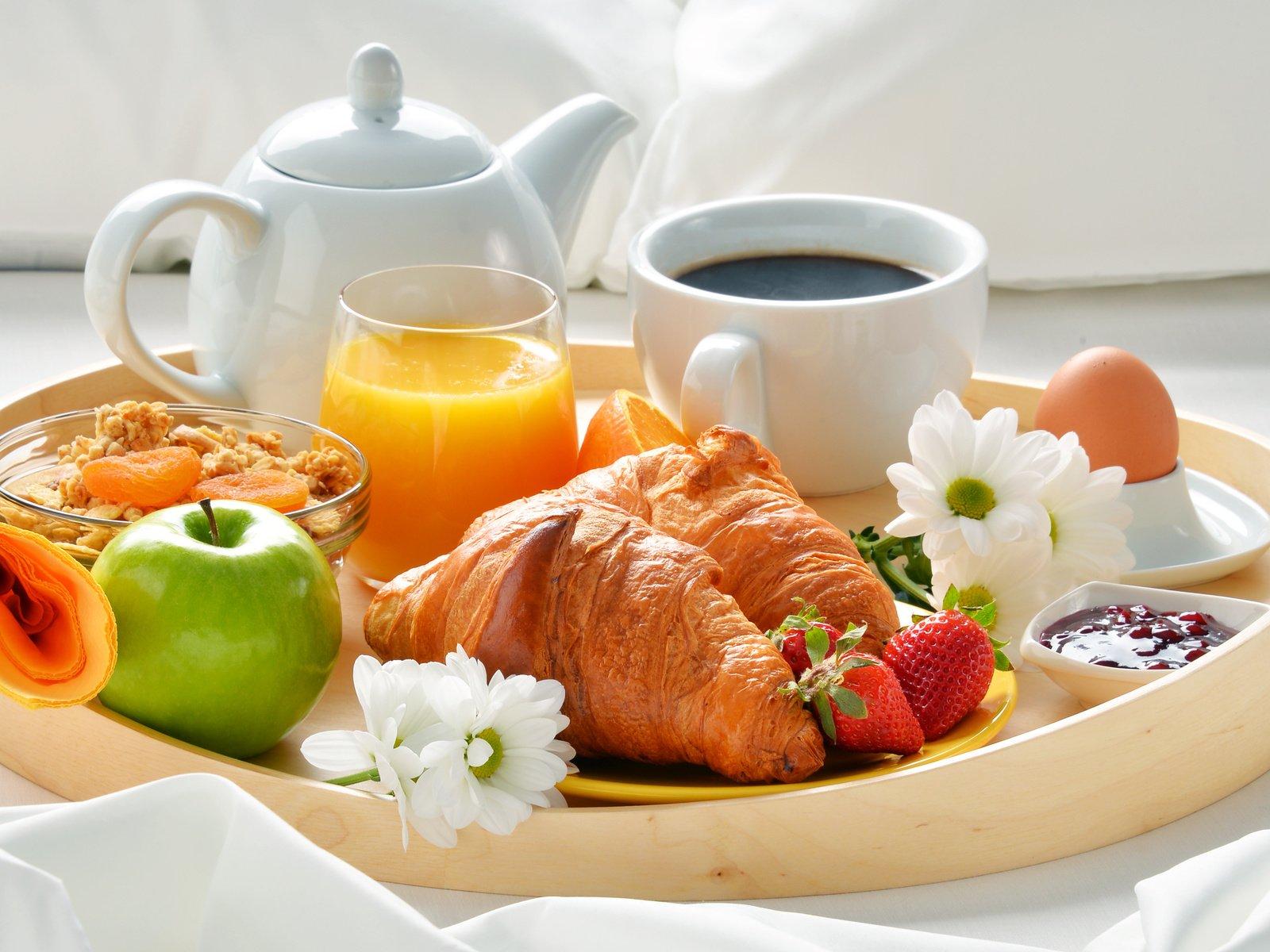 Картинки доброго утра и завтрак