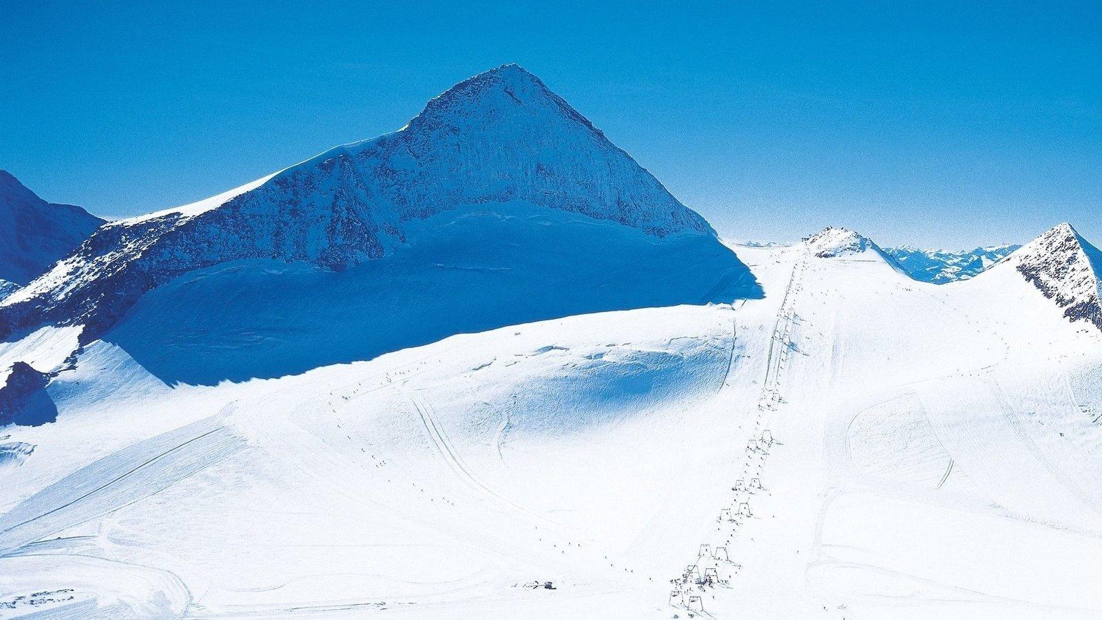 горы снег высота без смс