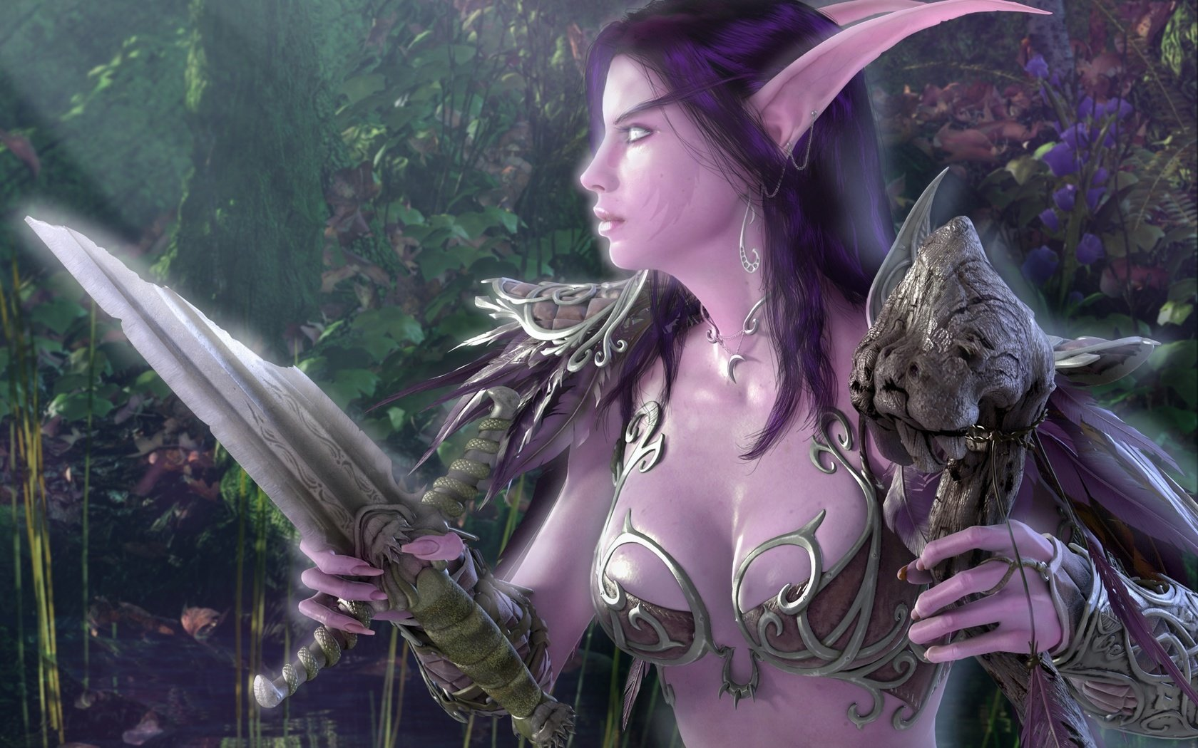 Night elf mount licking night elf vagi sex video