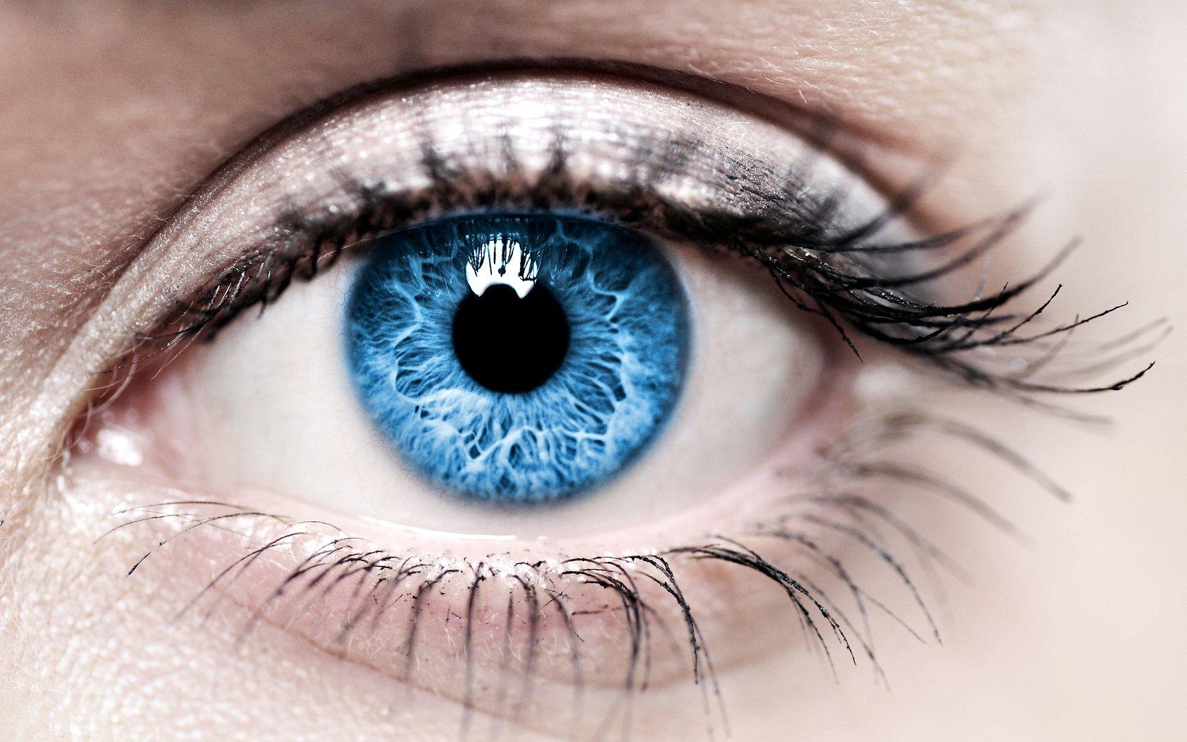Как сделать глаза более голубыми глазами 796