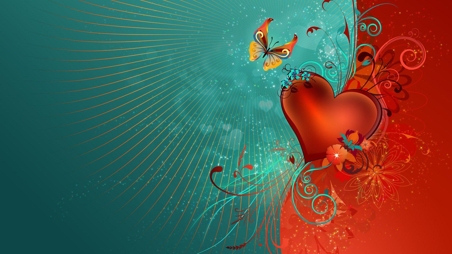 линии узоры сердце скачать