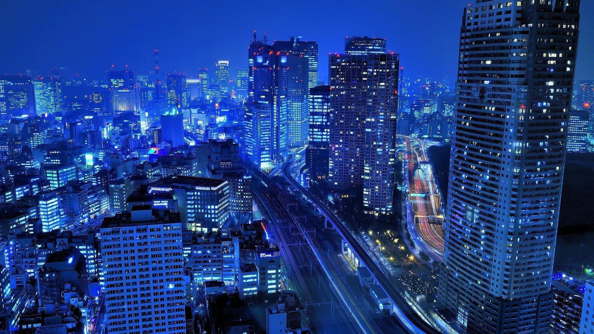 night, city, building без смс