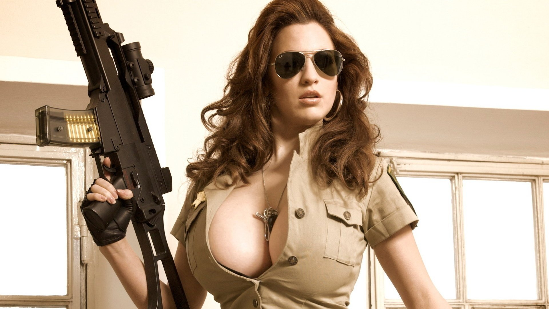 Naked girls with guns pictures sexual image