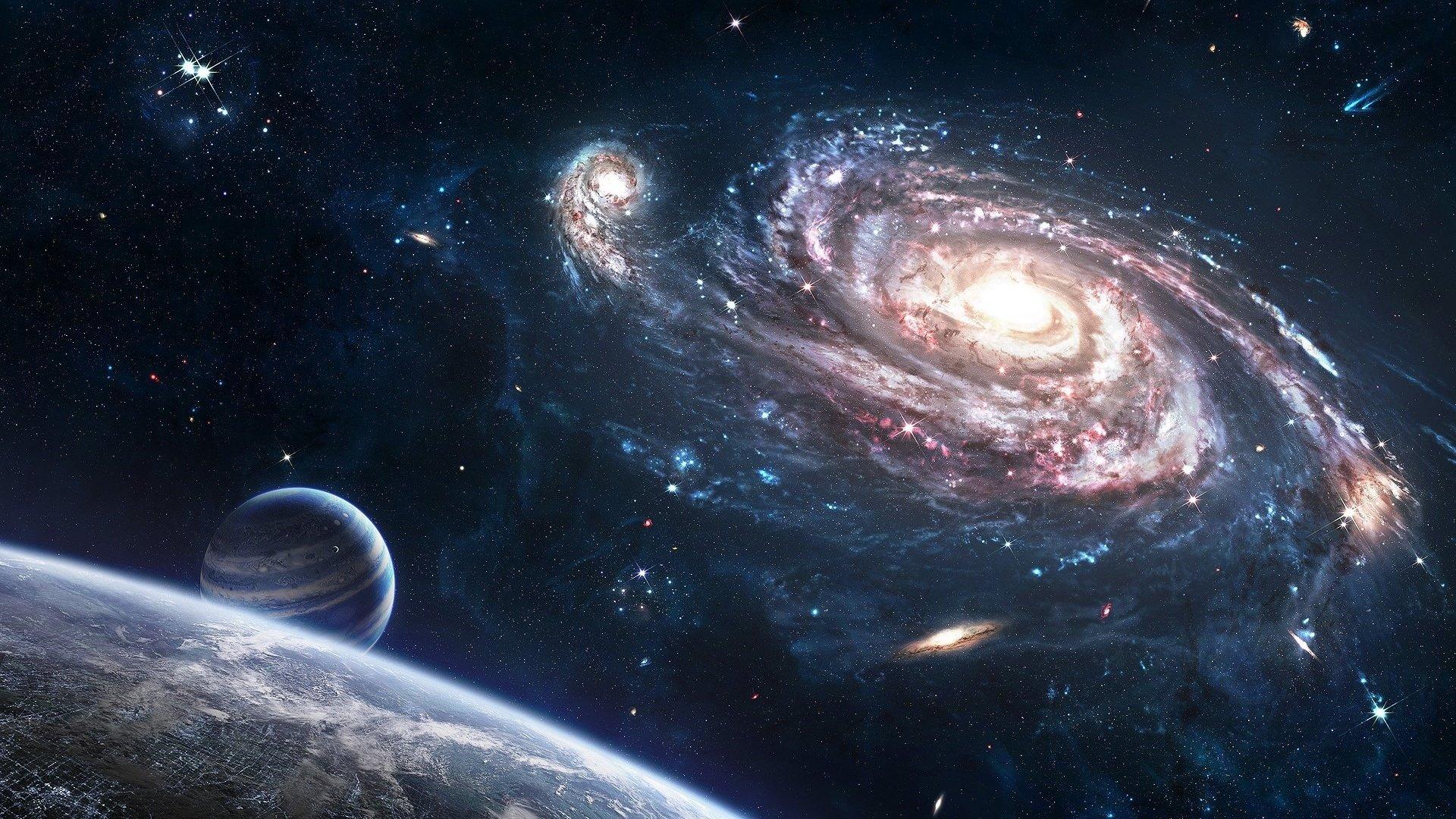 Обои space, planets, stars, cosmos. Космос foto 19
