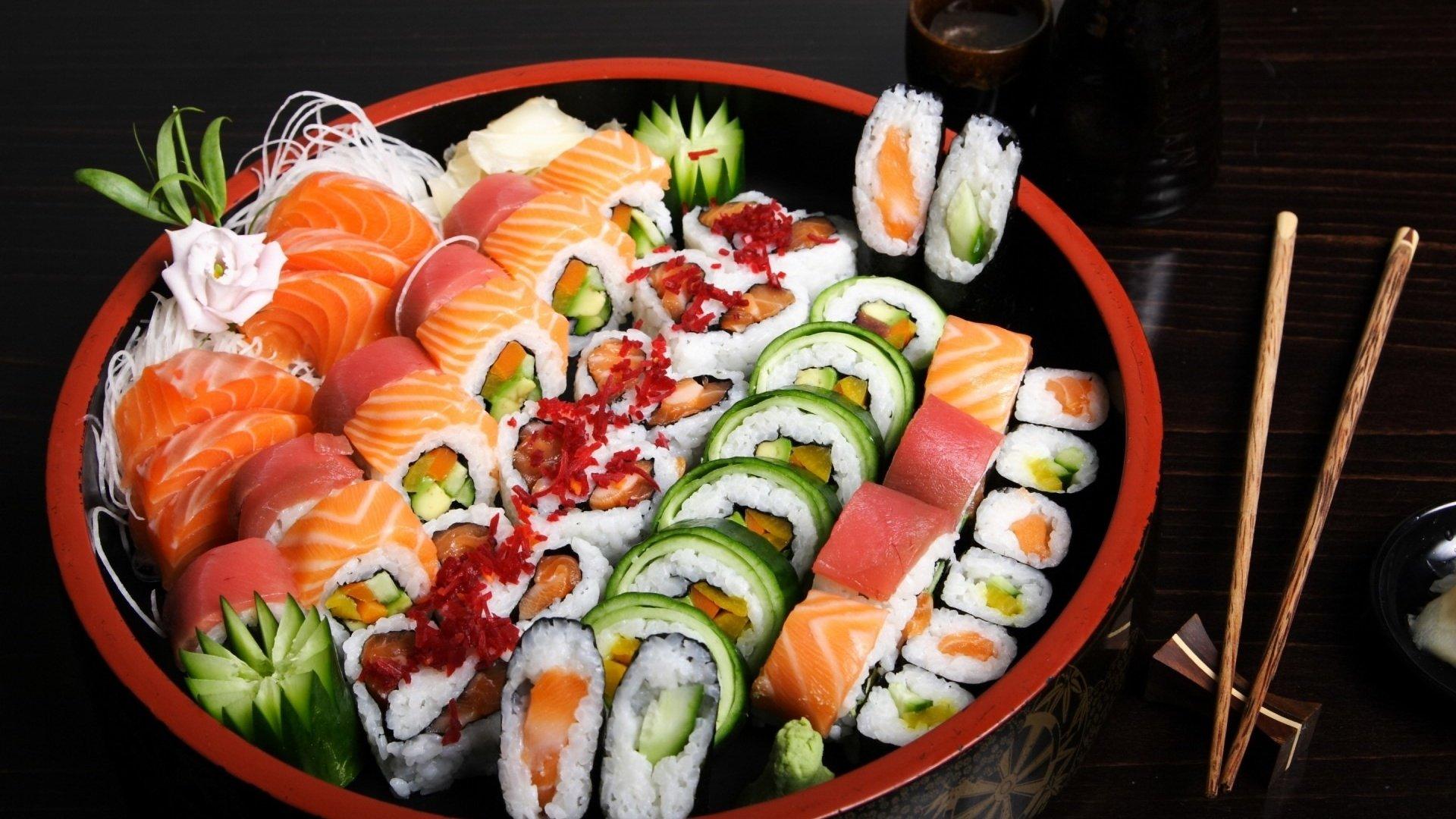 Дедушкой, картинки роллы суши