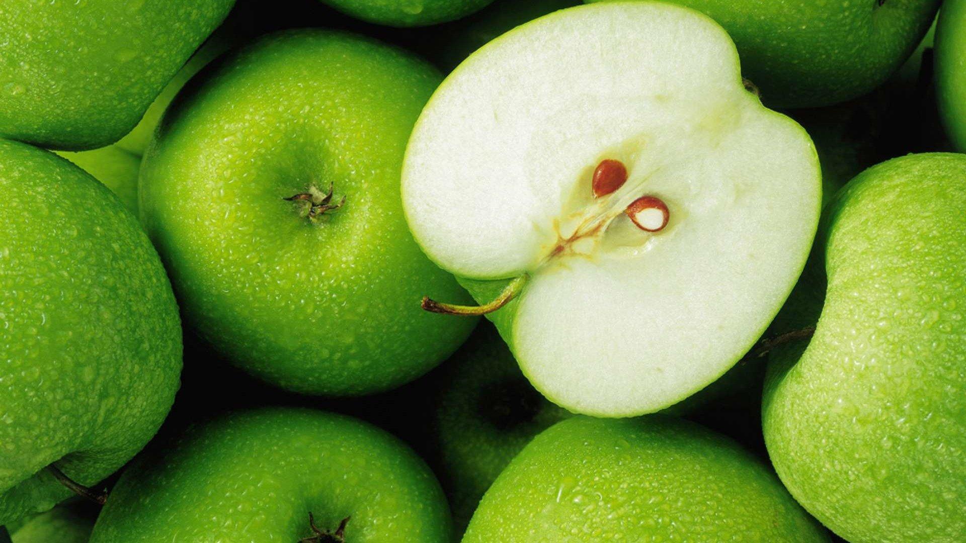 Яблоки Зелёные Фото