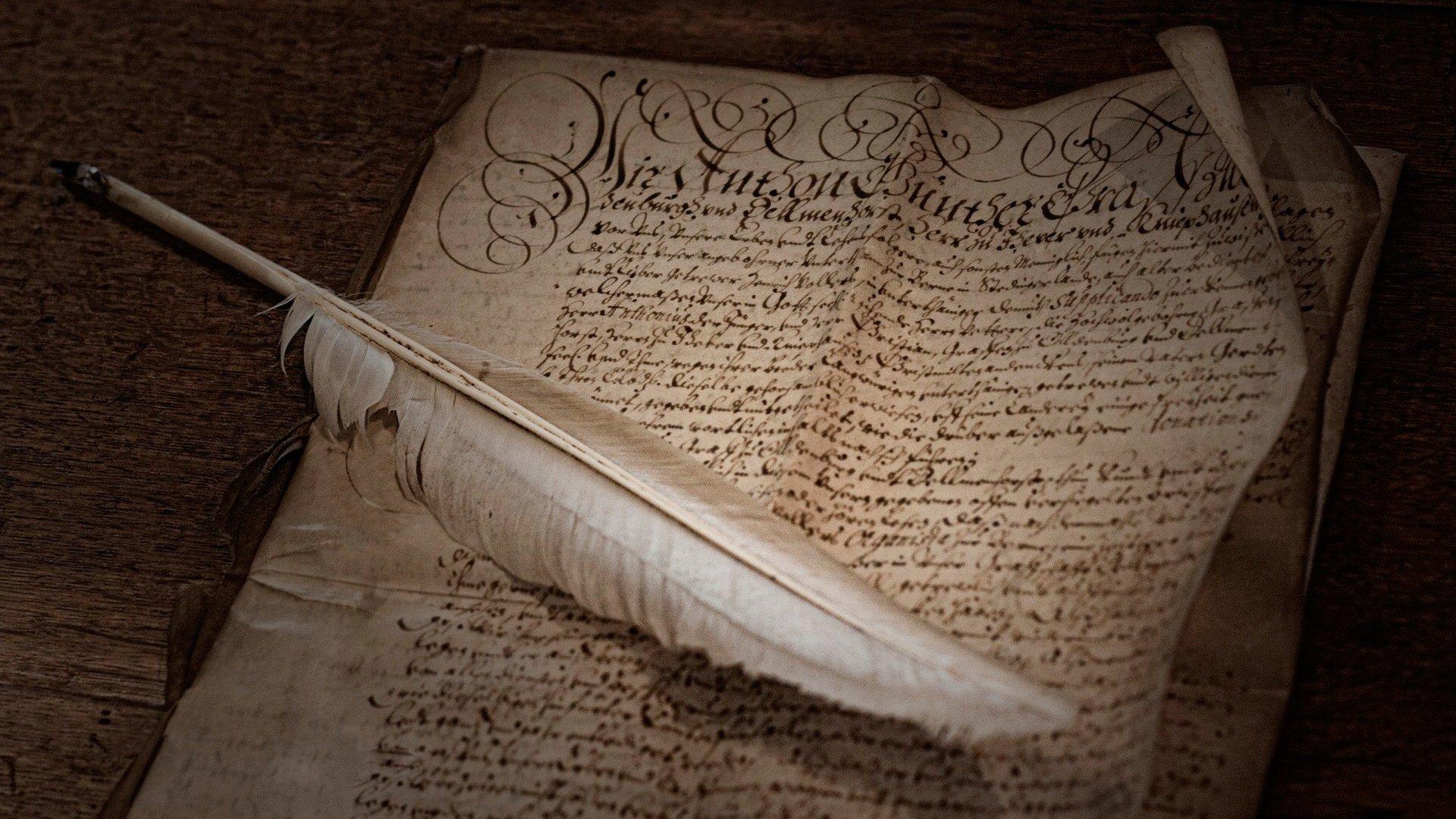 Картинки листы рукописи
