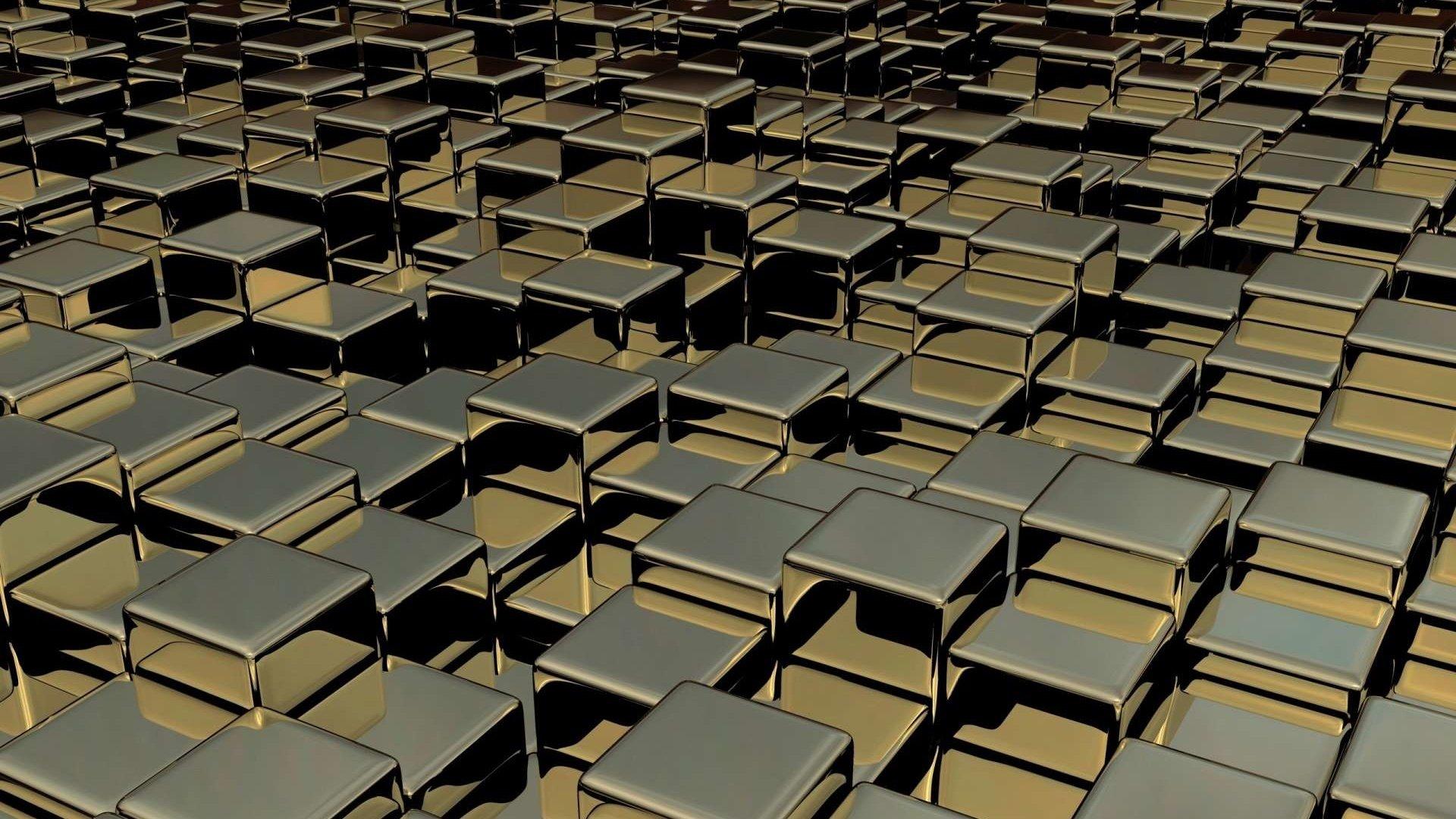 графика 3D кубы graphics Cuba на телефон