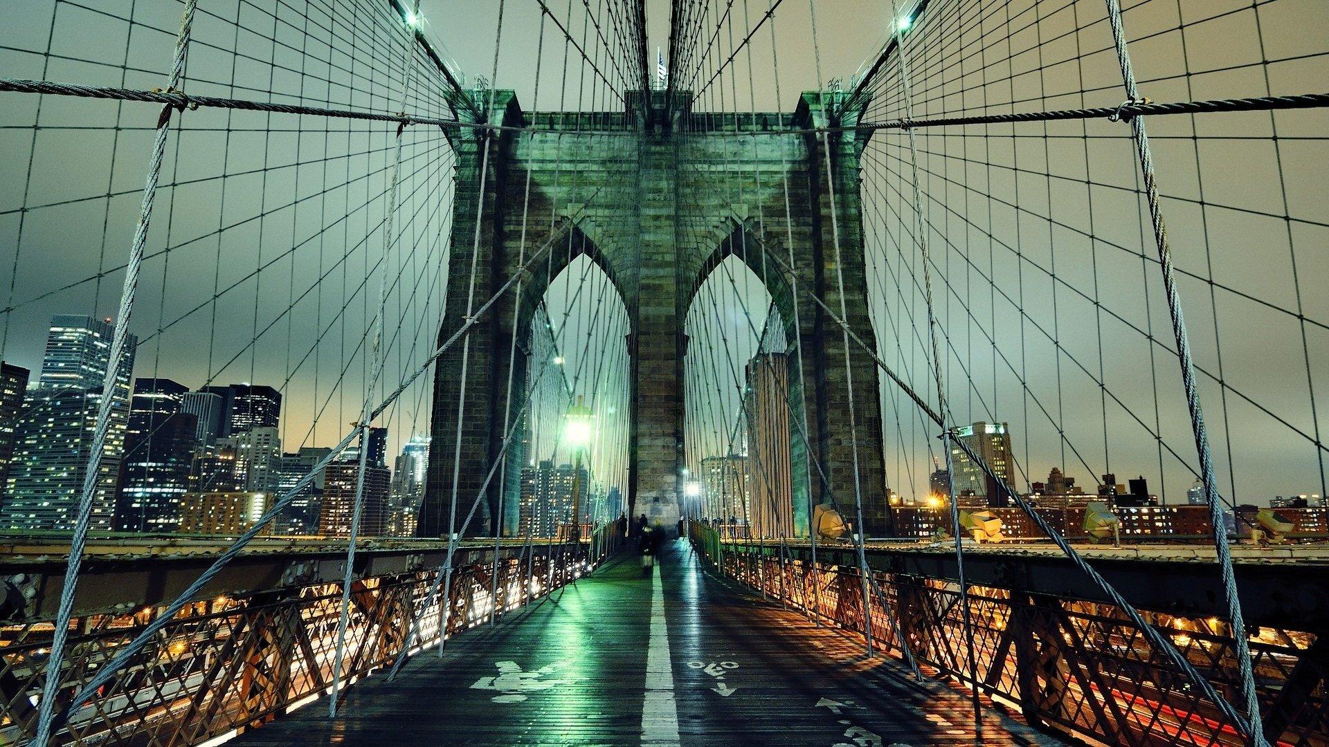 Картинка с мостами, днем