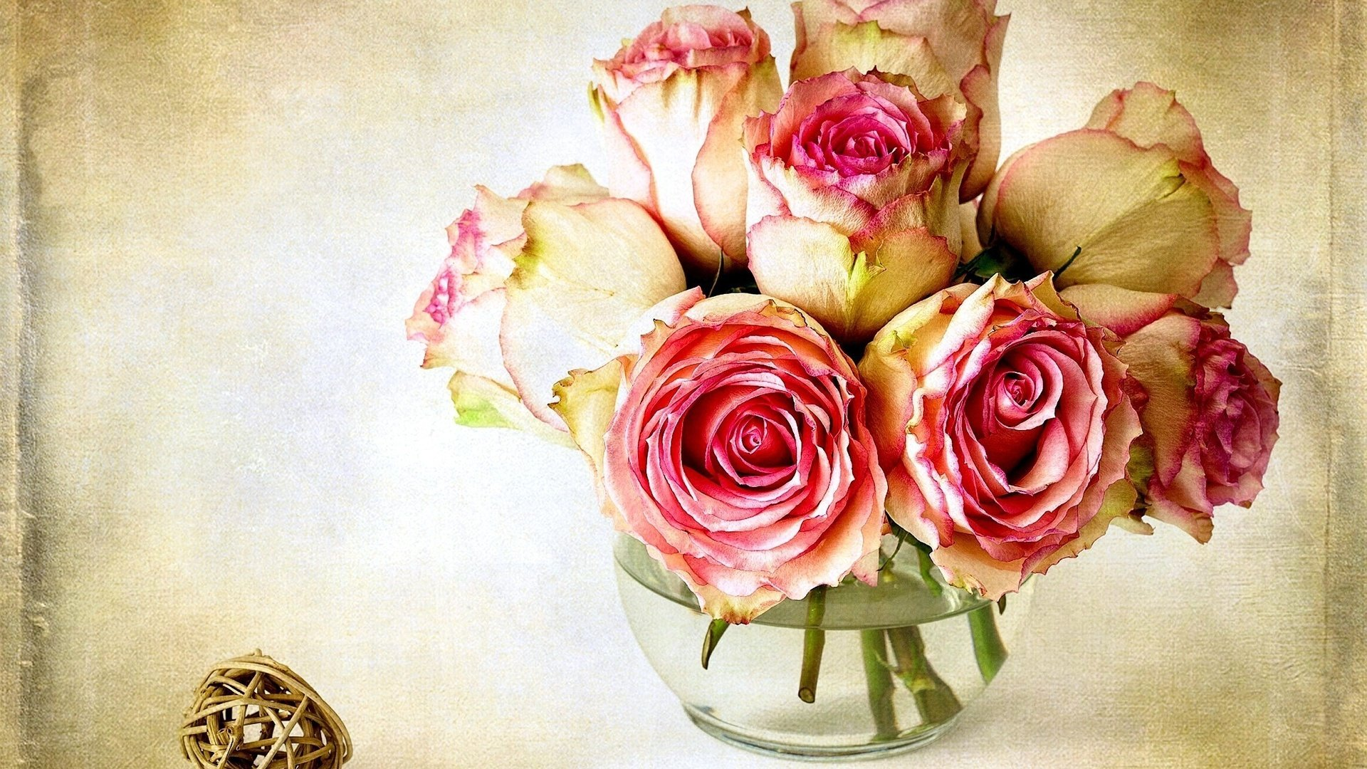 Красивые открытки с цветами высокого разрешения, разных языках