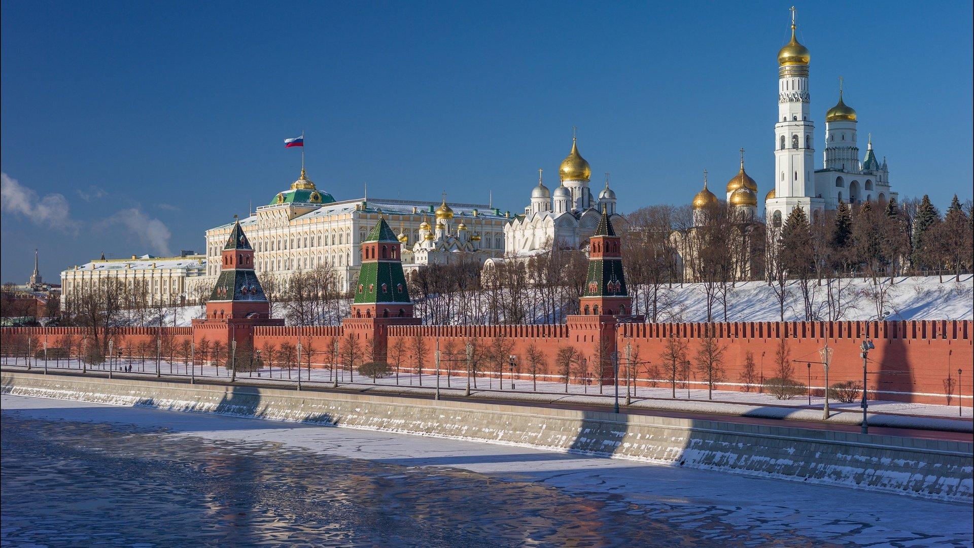 Обои kremlin, moscow, russia, россия, кремль. Города foto 18