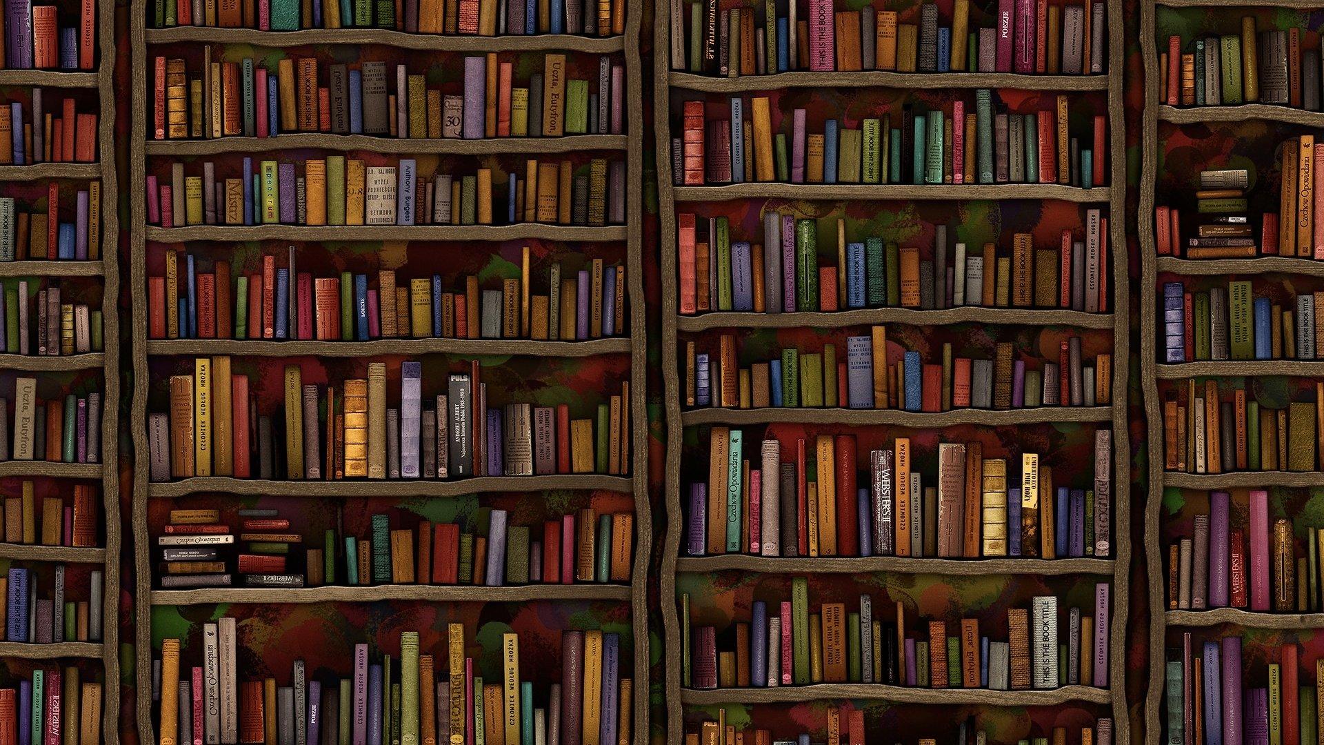 Обои библиотека, книги. Разное foto 12