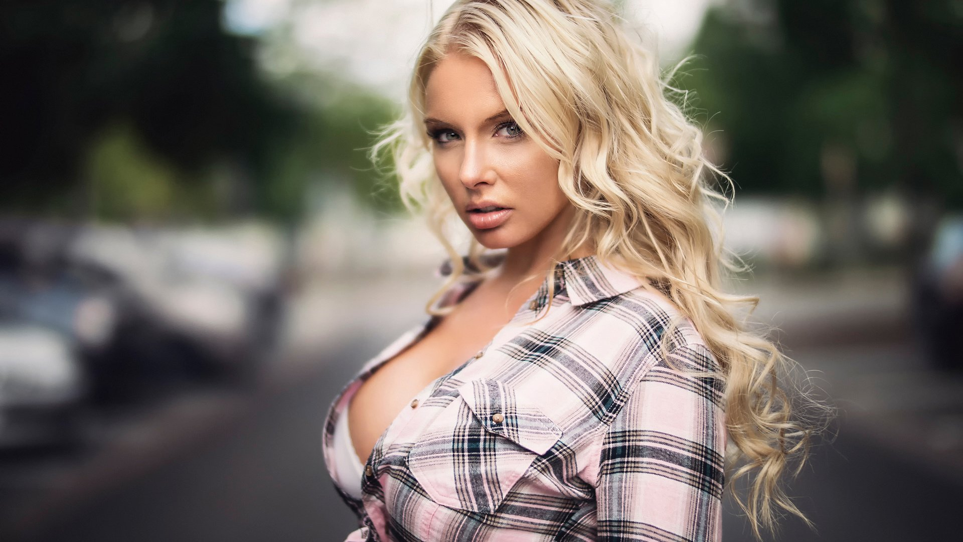 фото пышногрудых блондинок рекламирующих модели корсажей - 2