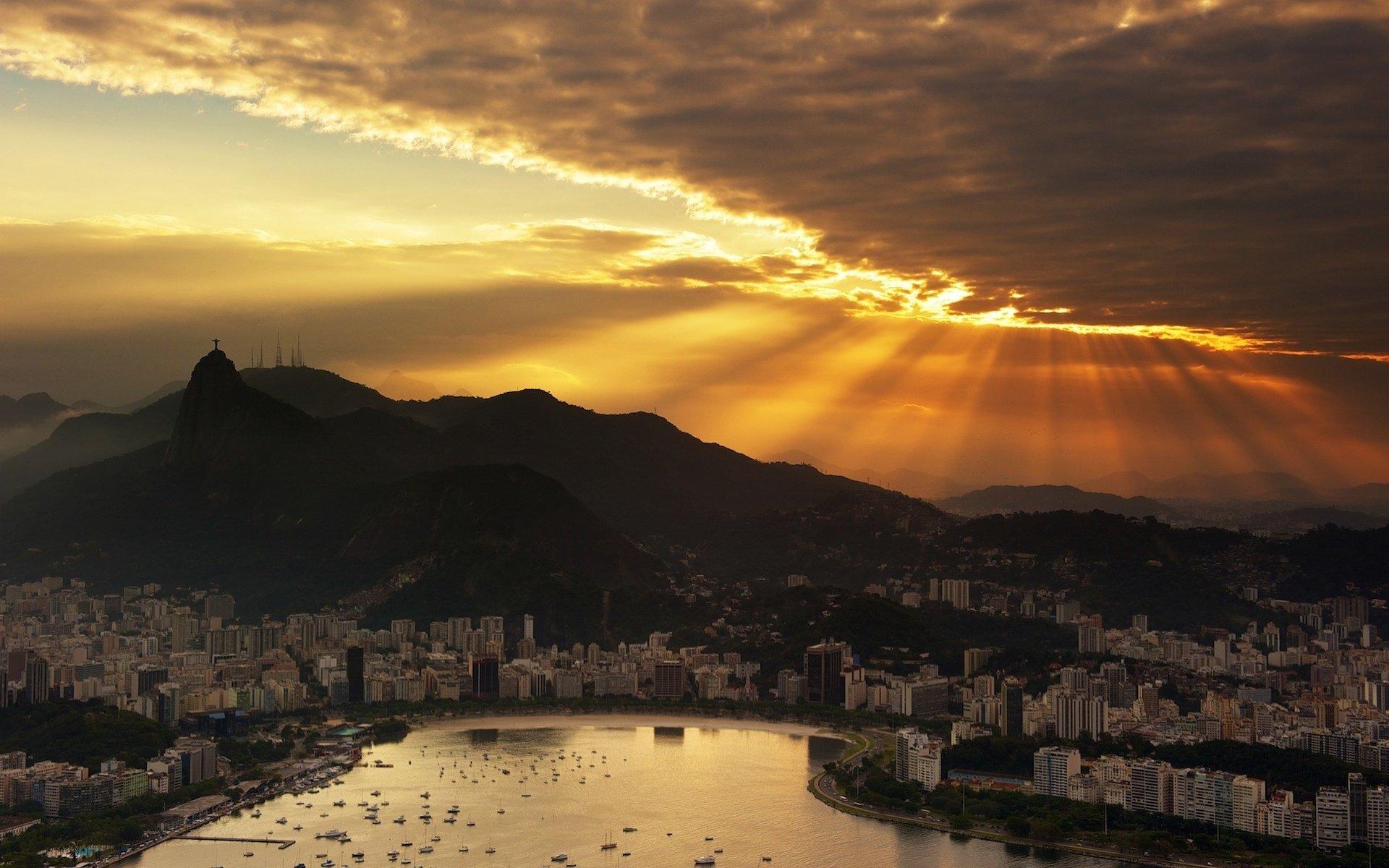 Рио-де-Жанейро перед рассветом  № 1457641 без смс